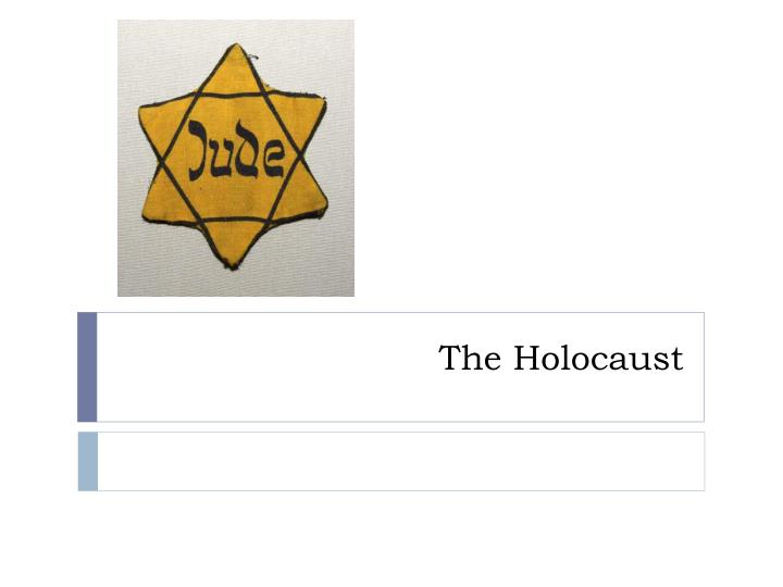 how was the holocaust possible