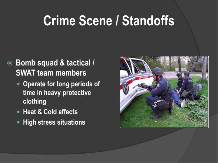 Crime Scene / Standoffs