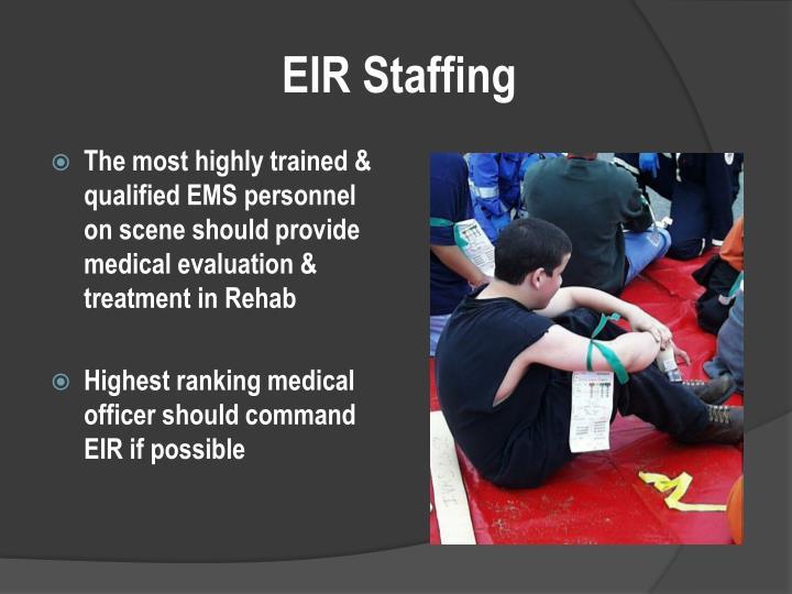 EIR Staffing