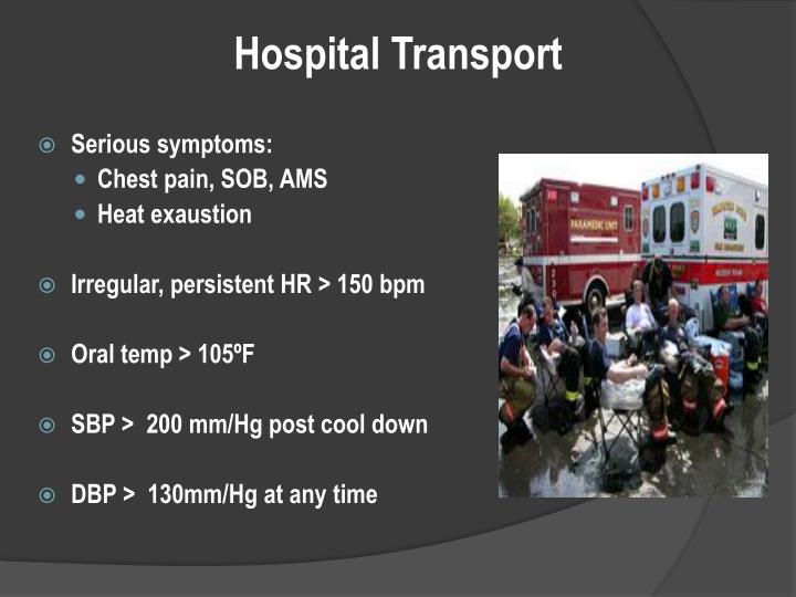 Hospital Transport