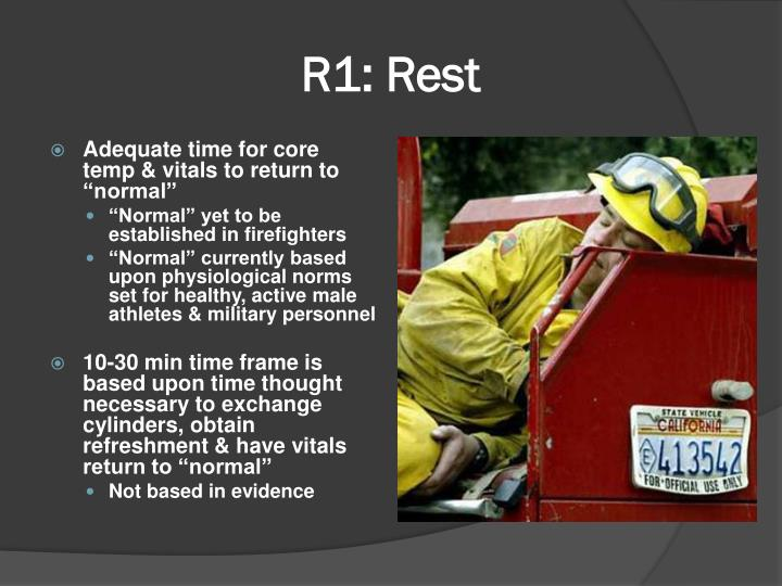 R1: Rest