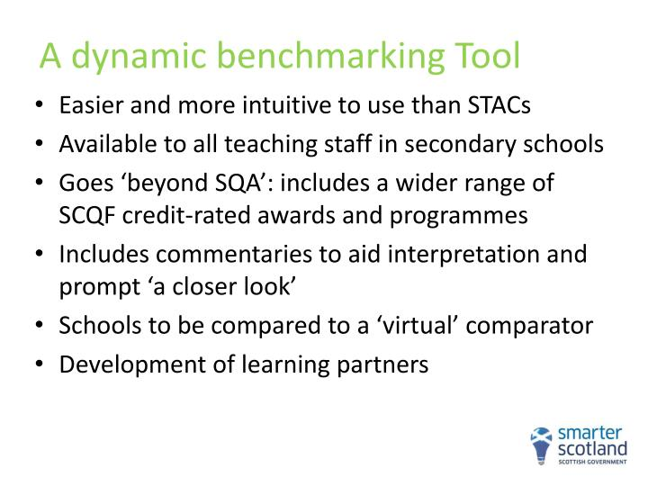 A dynamic benchmarking Tool