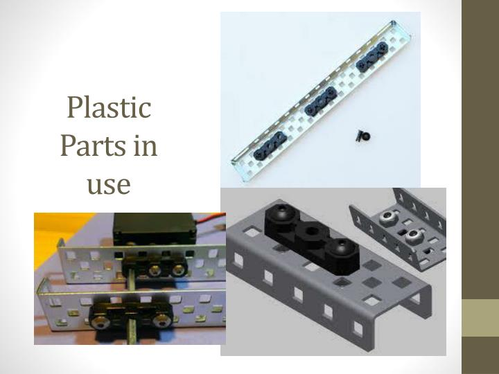 Plastic Parts in use