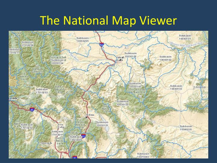 The National Map Viewer
