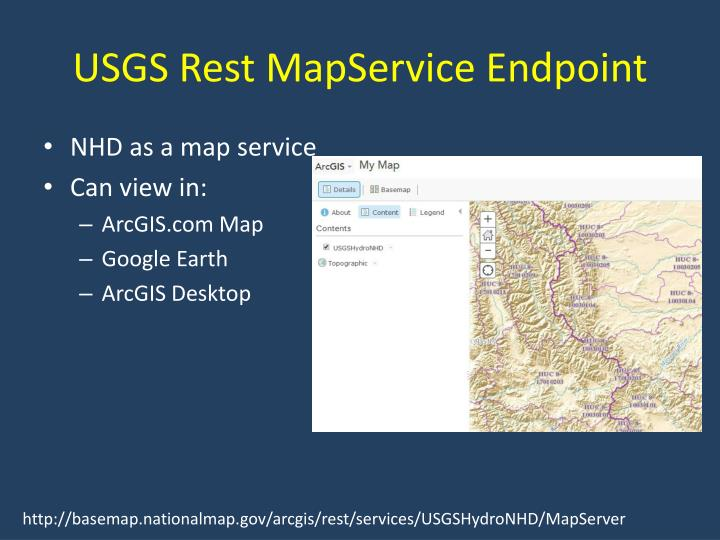 USGS Rest