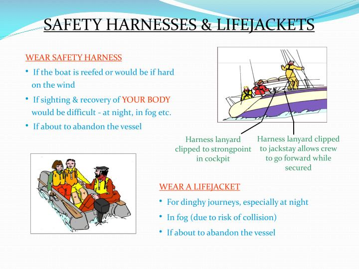 SAFETY HARNESSES & LIFEJACKETS