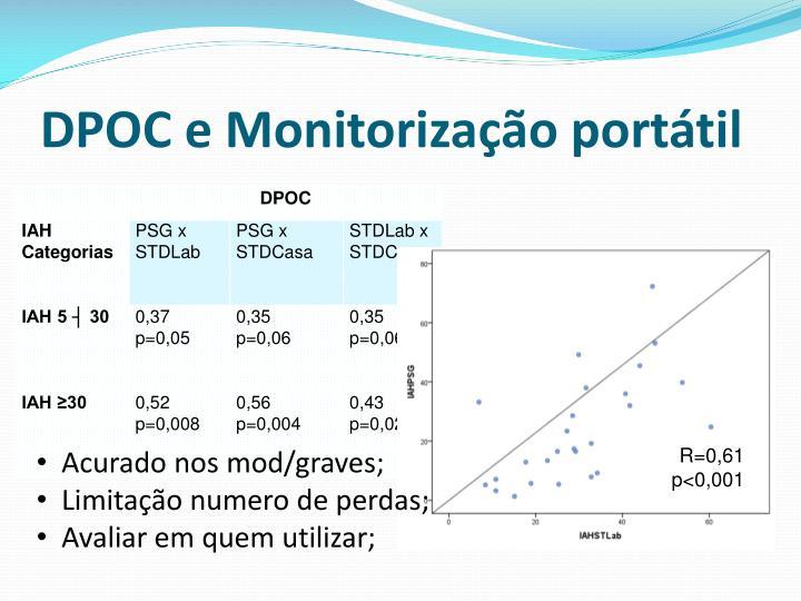 DPOC e Monitorização portátil