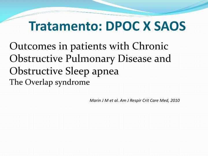 Tratamento: DPOC X SAOS