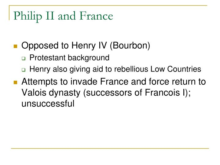 Philip II and France