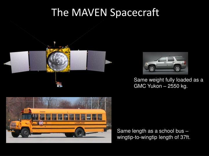 The MAVEN Spacecraft