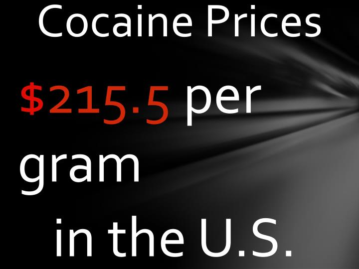 Cocaine Prices
