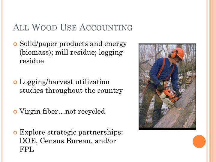 All Wood Use Accounting