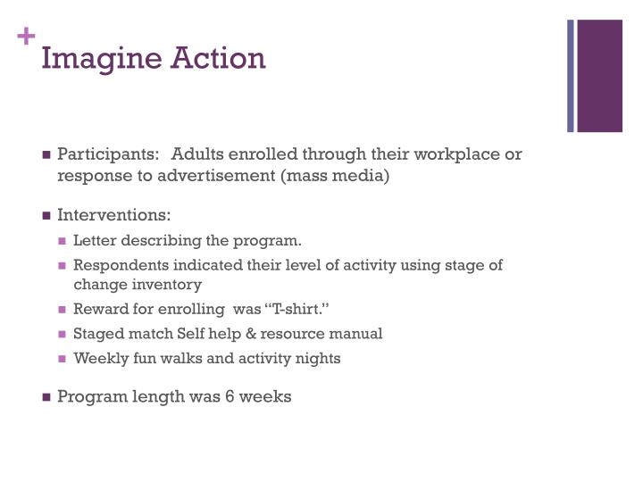 Imagine Action