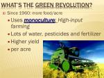 what s the green revolution