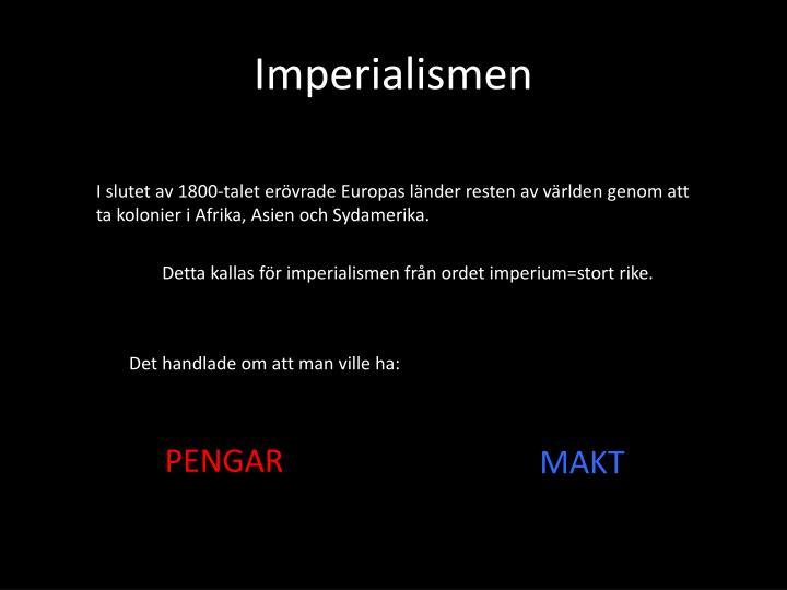 Imperialismen