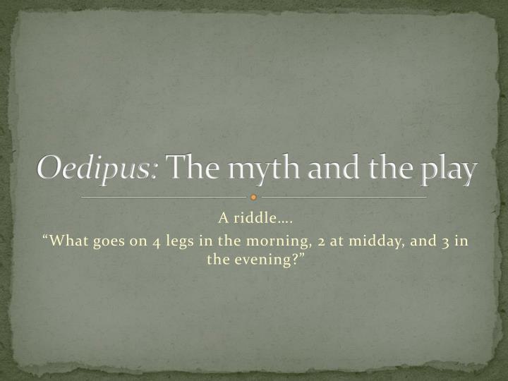 Oedipus: