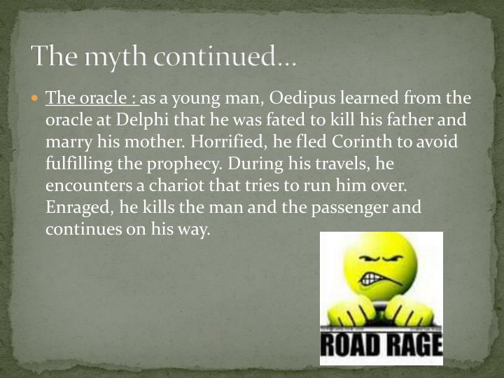 The myth continued…
