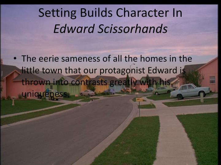 Setting Builds Character In