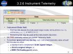3 2 6 instrument telemetry1