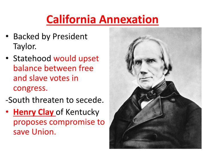 California Annexation