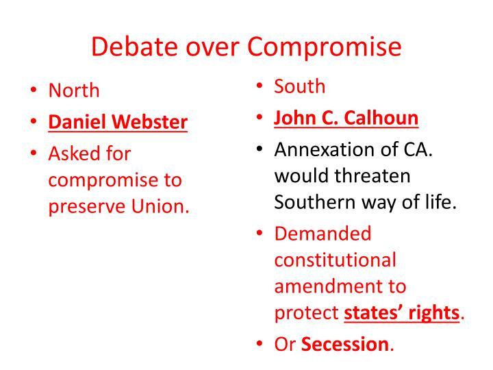 Debate over Compromise