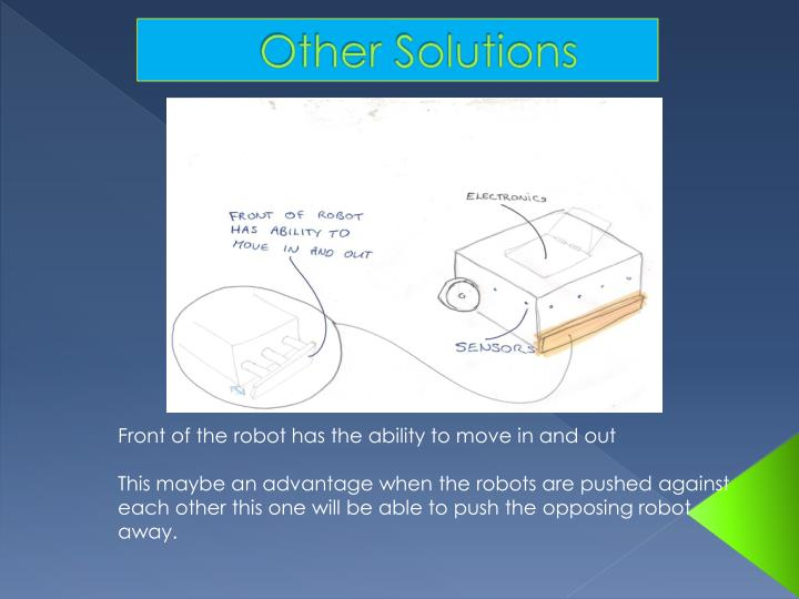 Other Solutions
