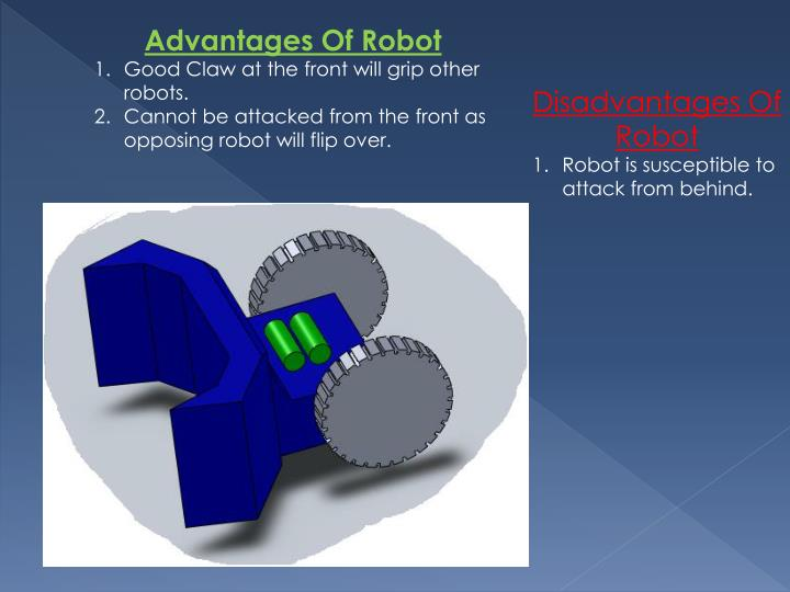 Advantages Of Robot