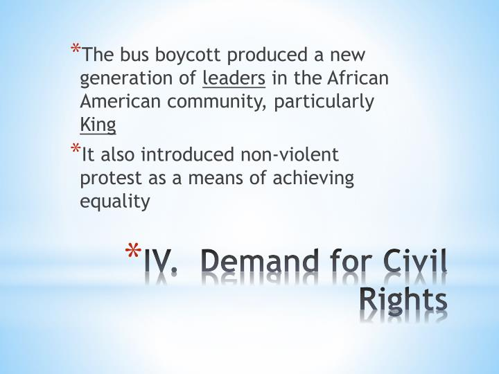 The bus boycott produced a new generation of