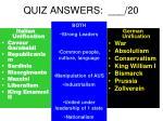 quiz answers 20