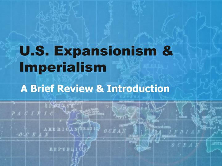 american expansionism essay