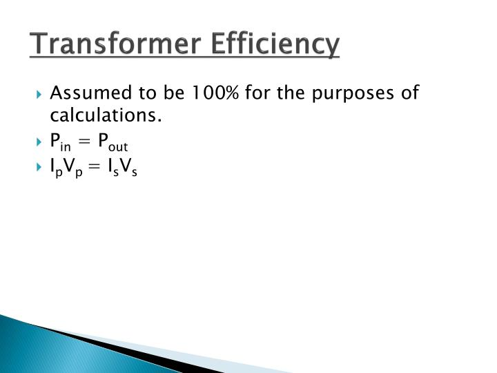 Transformer Efficiency