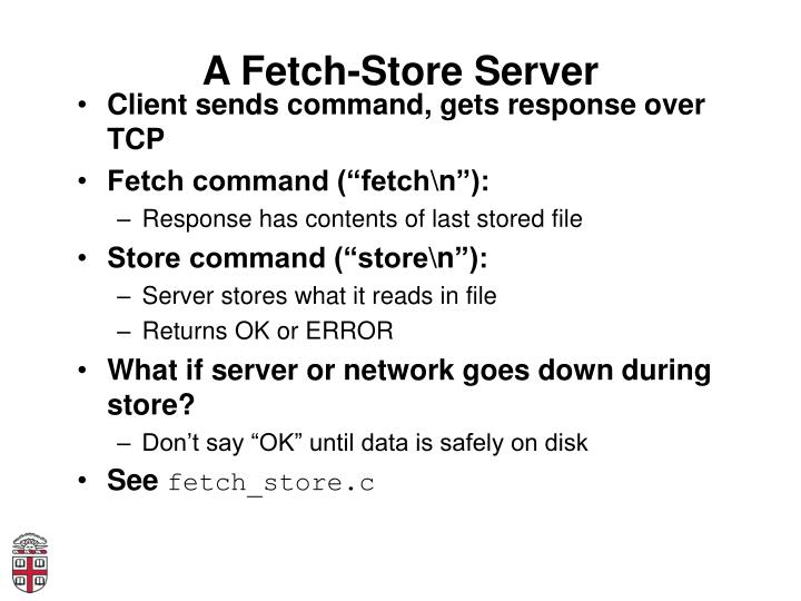 A Fetch-Store