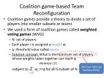 coalition game based team reconfiguration1
