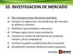 10 investigacion de mercado
