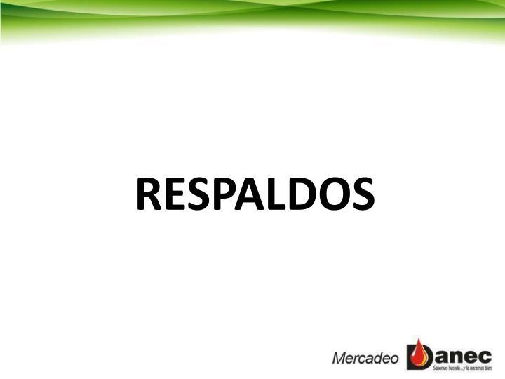 RESPALDOS