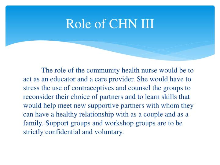 Role of CHN