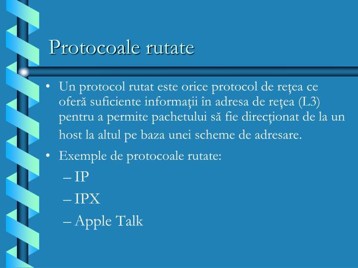 Protocoale r