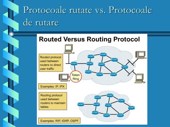 Protocoale rutate