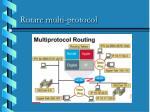 rutare m ulti protocol