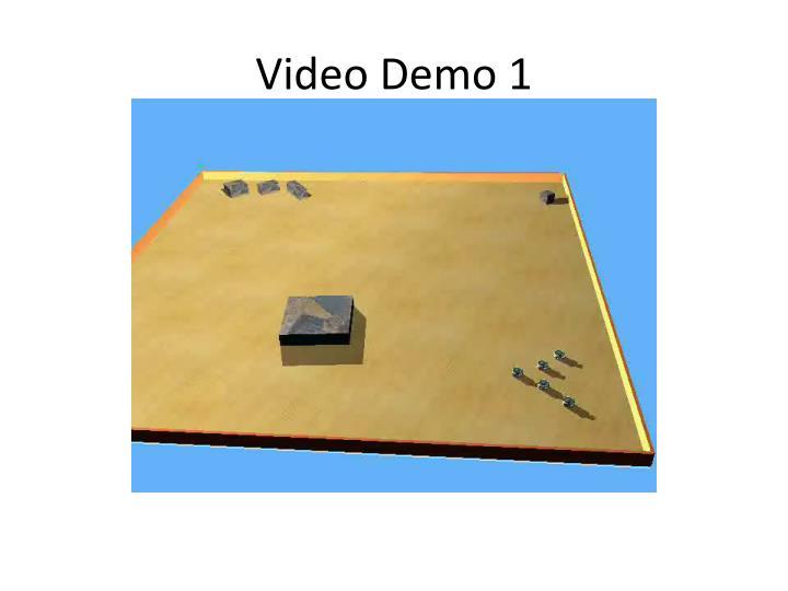 Video Demo 1