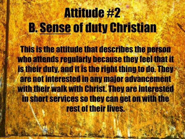 Attitude #2