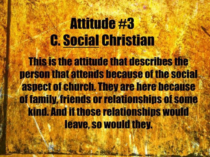 Attitude #3