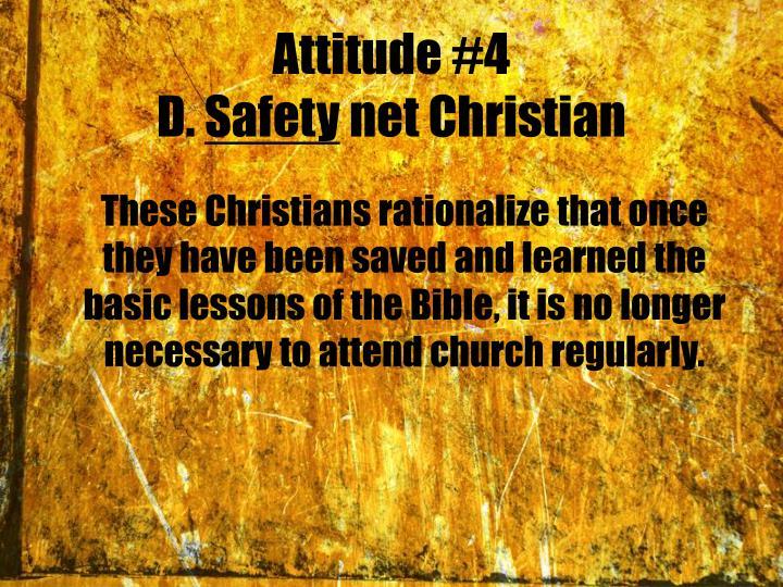 Attitude #4