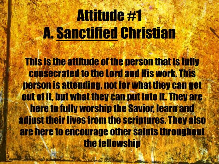Attitude #1