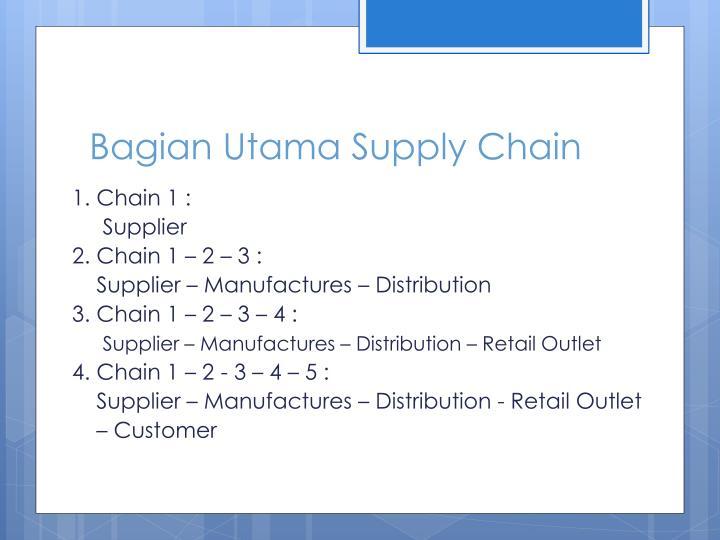 Bagian Utama Supply