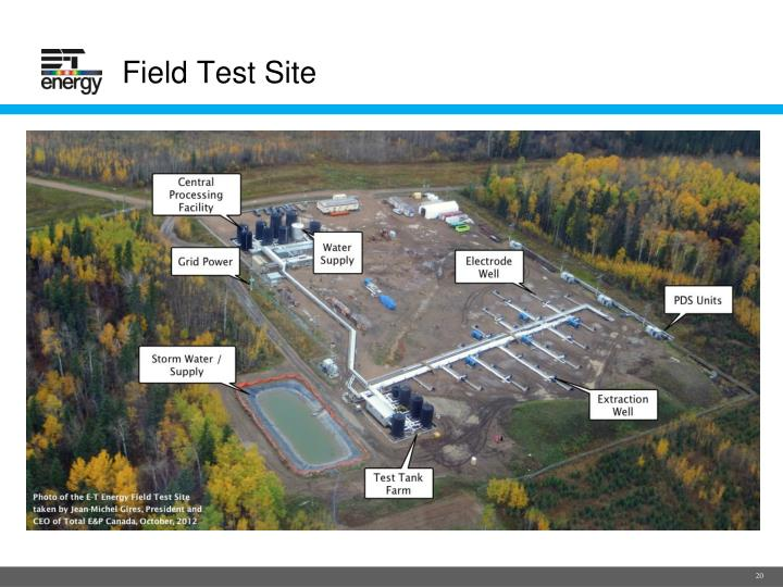 Field Test Site