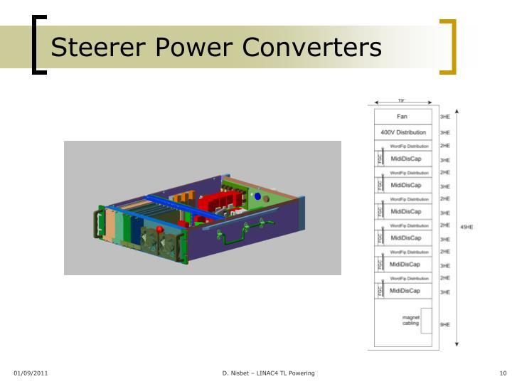 Steerer Power Converters