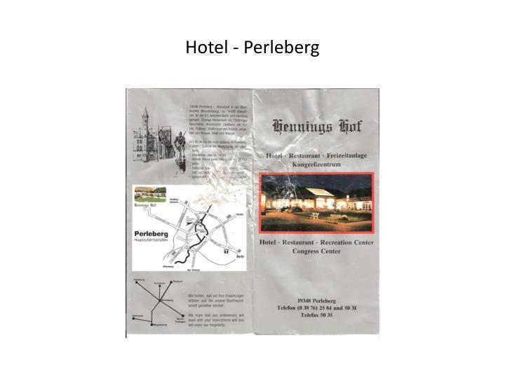 Hotel - Perleberg