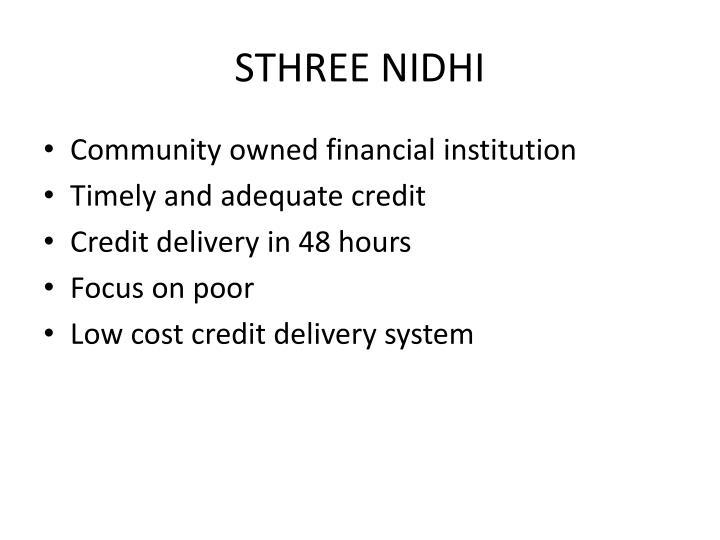STHREE NIDHI