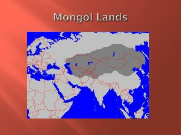 Mongol Lands